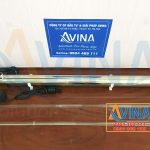 Bộ đèn diệt khuẩn UV 55W - 2.700L/H gồm: Bóng đèn UV, ống thạch anh, ống inox và adapter