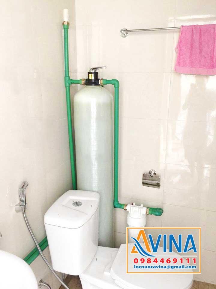 Bộ lọc đầu nguồn xử lý nước chung cư