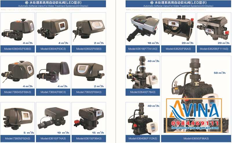 Các loại van điều khiển hoàn nguyên tự động Runxin