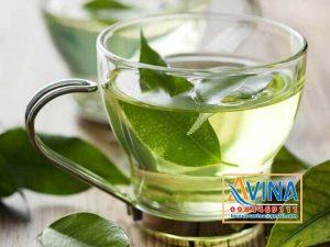 Nước tinh khiết dùng để pha trà xanh