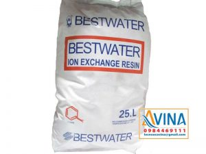 Hạt cation C100E Bestwater loại bỏ ion canxi. magie trong nước