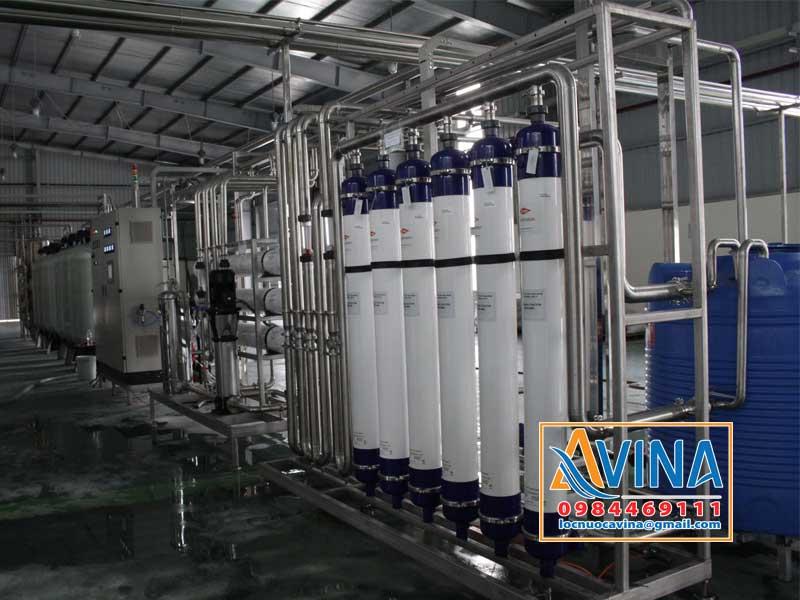 Hệ thống lọc UF tiền xử lý trước R.O trong nhà máy bia