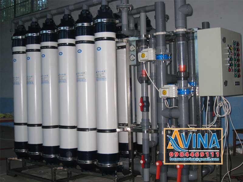 Hệ thống lọc UF xử lý nước tái sử dụng