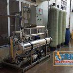 Hệ thống lọc nước tinh khiết 1.000L/H sử dụng 1 màng R.O 8040