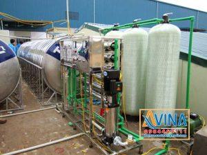 Hệ thống lọc nước tinh khiết công suất 1.500L/H cung cấp nước ăn uống cho nhà máy