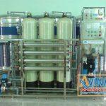 Hệ thống lọc nước tinh khiết 1.000L/H trong sản xuất thực phẩm