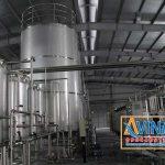 Hệ thống lọc nước tinh khiết trong nhà máy sản xuất bia