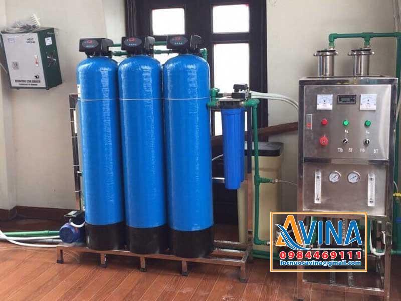 Ứng dụng của van điều khiển hoàn nguyên tự động trong hệ thống lọc nước tinh khiết R.O