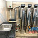 Hệ thống lọc siêu lọc dùng cột lọc inox nhập khẩu