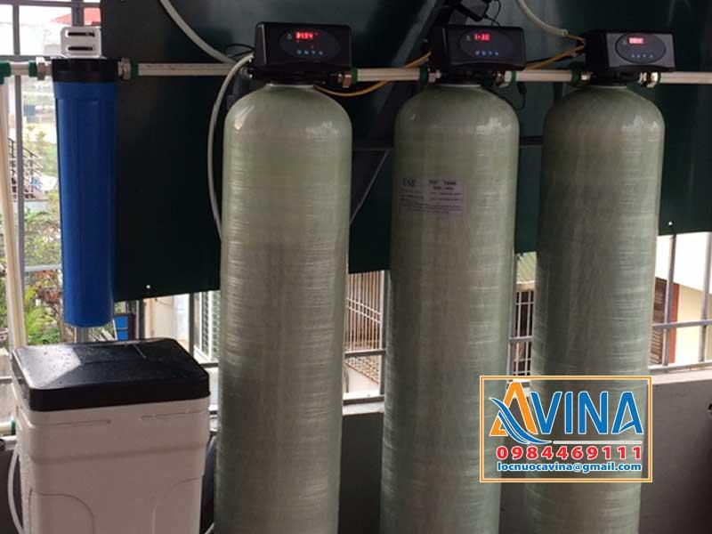 Hệ thống lọc nước sinh hoạt 1M3/H van tự động điều khiển