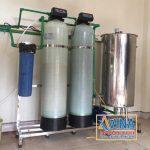 Hệ thống lọc sinh hoạt xử lý nước nhiễm Sắt công suất 1M3/H