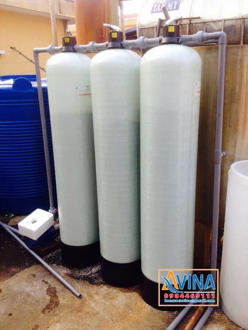 Hệ thống lọc nước sinh hoạt 2M3/H lắp đặt tại hộ gia đình