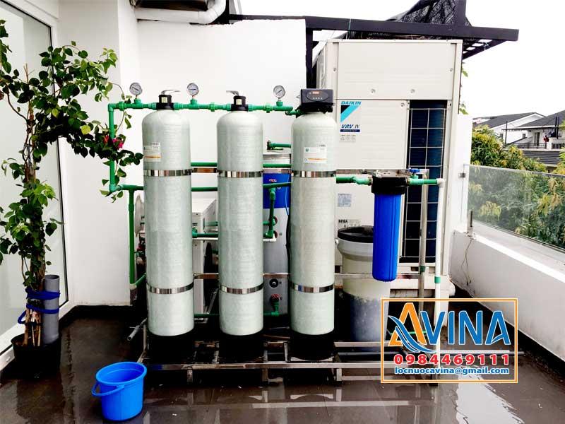 Hệ thống lọc nước sinh hoạt loại bỏ nước nhiễm asen