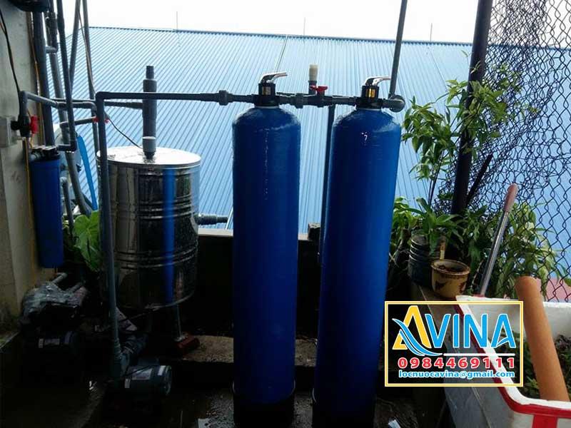 Hệ thống xử lý nước sinh hoạt nhiễm Sắt