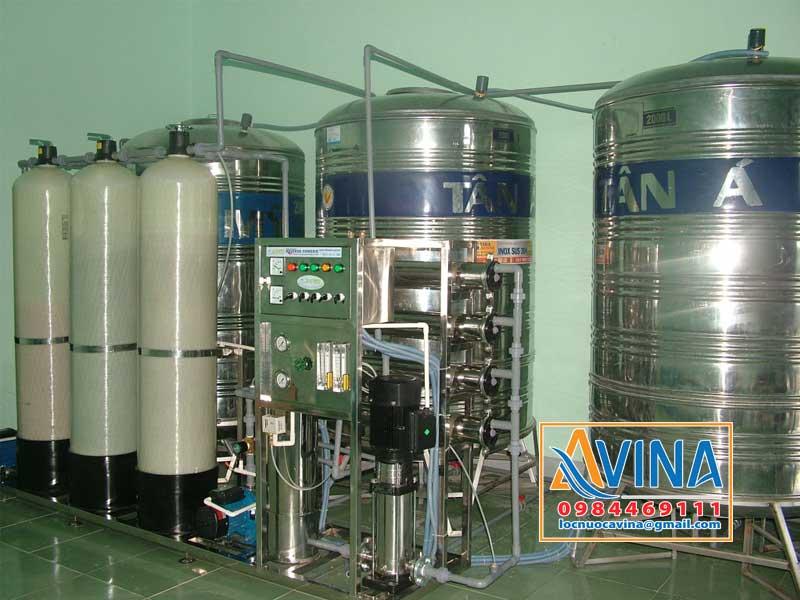 Hệ thống lọc nước công suất 1.000L/H cung cấp nước nấu ăn cho công nhân nhà máy
