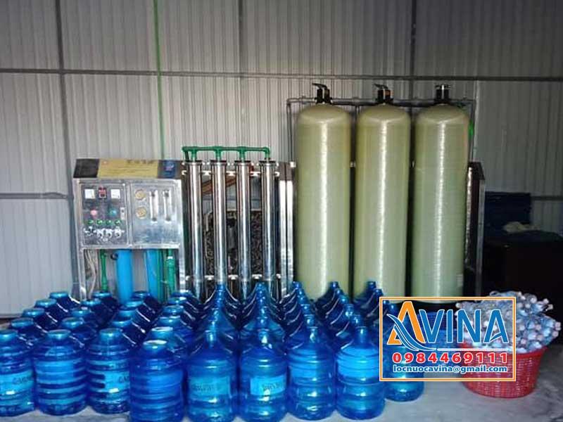 Hệ thống lọc nước tinh khiết 1.000L/H sản xuất nước đóng bình