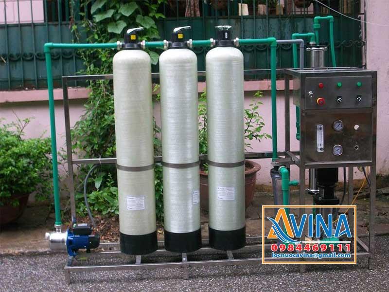 Hệ thống lọc nước tinh khiết công suất 250L/H