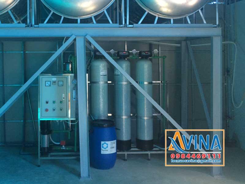 Hệ thống lọc nước R.O 250L/H điều khiển bằng van tự động