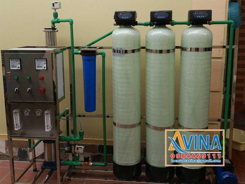 Hệ thống lọc nước tinh khiết 250L/H điều khiển bằng van tự động
