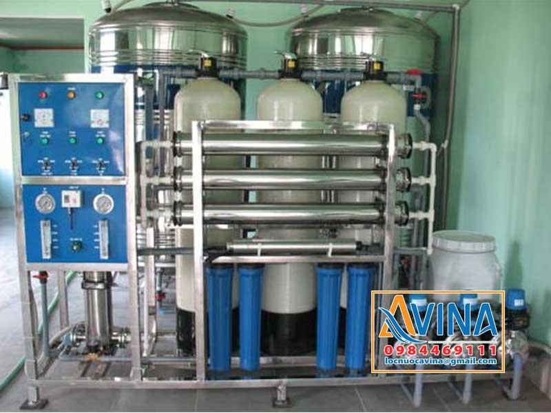 Hệ thống lọc nước tinh khiết 750L/H điều khiển bằng van tay