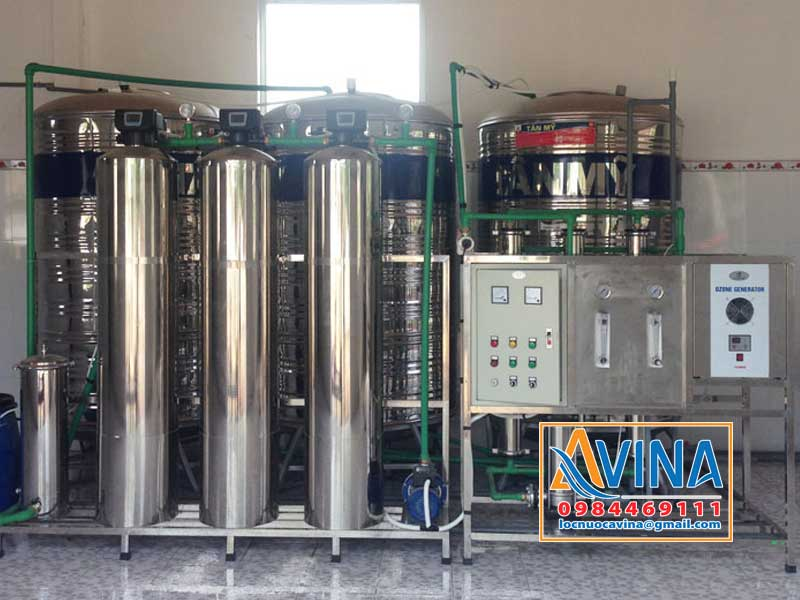 Hệ thống lọc nước tinh khiết 750L/H van điều khiển tự động