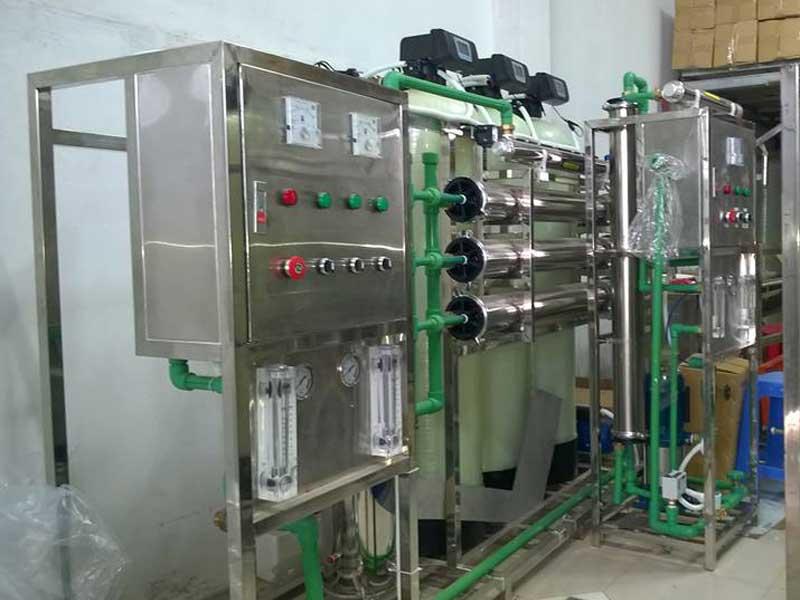 Một góc hệ thống lọc nước tinh khết 750L/H