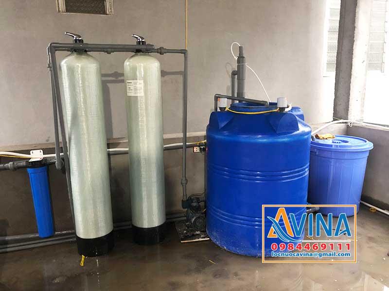 Hệ thống xử lý nước giếng khoan nhiễm sắt ứng dụng ejector trộn khí