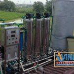 Hệ thống xử lý nước tinh khiết R.O sử dụng cột lọc inox