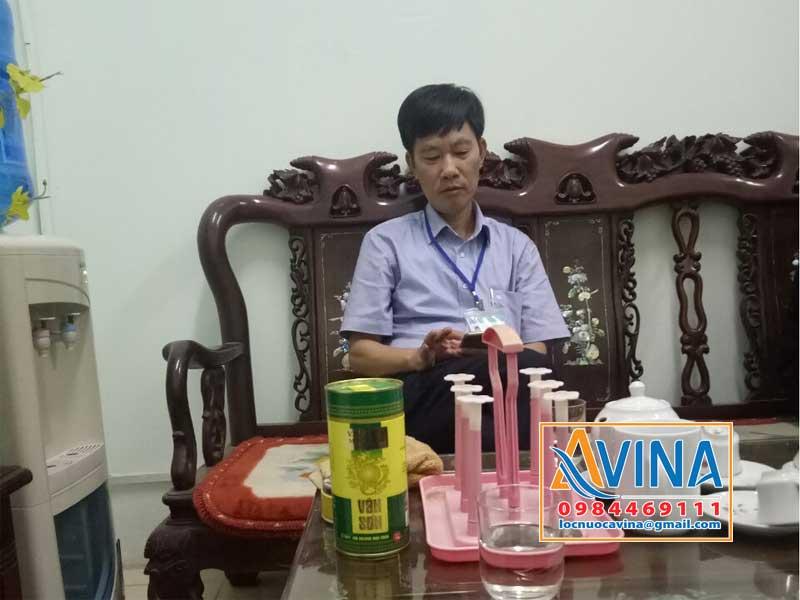 Ông Nguyễn Viết Kiền - Chủ tịch UBND xã Ngọc Hồi