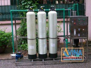 Sục rửa vật liệu trong hệ thống lọc tinh khiết R.O
