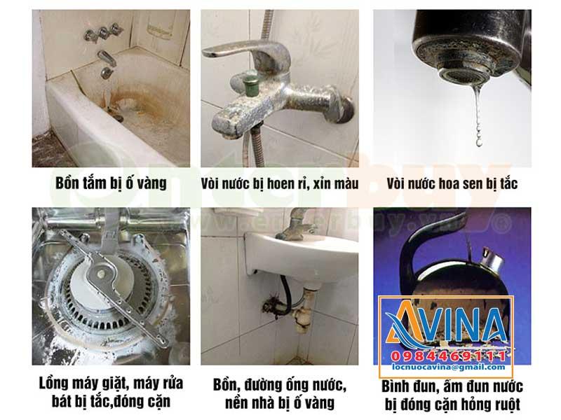 Tác hại của nước cứng đối với đồ dùng trong nhà
