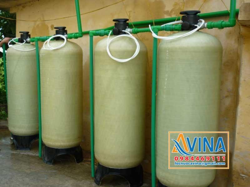 Hệ thống làm mềm nước sử dụng muối viên tinh khiết